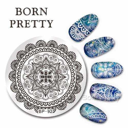 Born Pretty Plate # BP-92